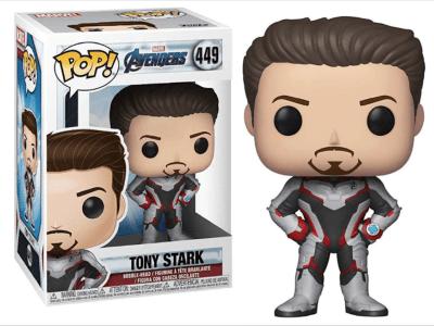 POP, Figura de Vinilo Coleccionable, Marvel, Tony Stark, Nº449