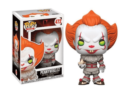 POP, Figura de Vinilo Coleccionable, IT, Pennywise (With Boat), Nº472