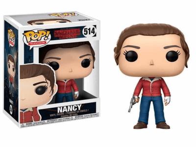 POP, Figura de Vinilo Coleccionable, Stranger Things, Nancy, Nº514