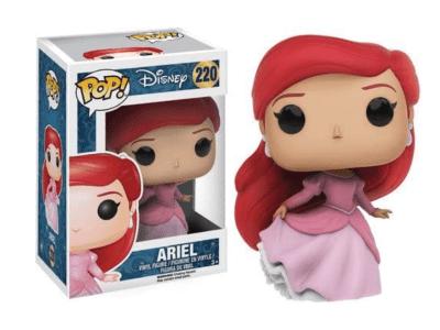 POP, Figura de Vinilo Coleccionable, Disney, Ariel, Nº220