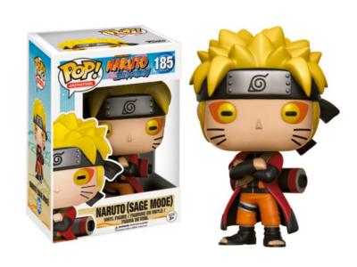 POP, Figura de Vinilo Coleccionable, Naruto, Naruto (Sage Mode), Nº185