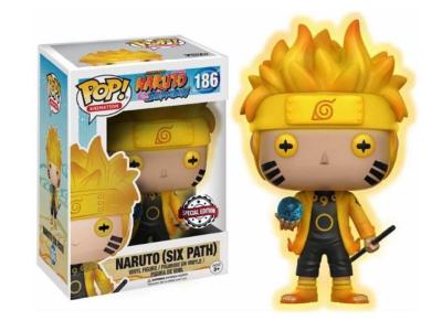 POP, Figura de Vinilo Coleccionable, Naruto, Naruto (Six Path), Nº186
