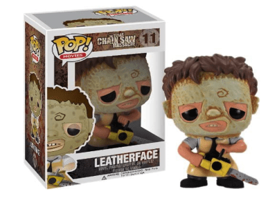 POP, Figura de Vinilo Coleccionable, The Texas Chain Saw Massacre, Leatherface, Nº11