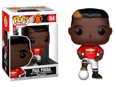 POP, Figura de Vinilo Coleccionable, Manchester United, Paul Pogba, Nº04