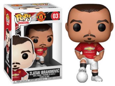 POP, Figura de Vinilo Coleccionable, Manchester United, Zlatan Ibrahimovic, Nº03