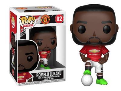 POP, Figura de Vinilo Coleccionable, Manchester United, Romelu Lukaku, Nº02
