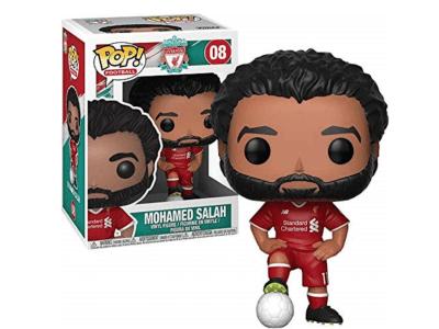 POP, Figura de Vinilo Coleccionable, Liverpool, Mohamed Salah, Nº08