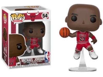 POP, Figura de Vinilo Coleccionable, Chicago Bull, Michael Jordan, Nº54