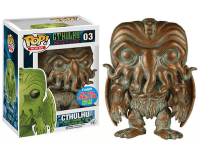 POP, Figura de Vinilo Coleccionable, Cthulhu, Cthulhu (Bronze), Nº03
