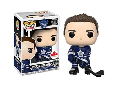 POP, Figura de Vinilo Coleccionablee, NHL Toronto Maple Leafs, Aston Mathews, Nº20