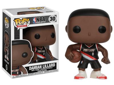 POP, Figura de Vinilo Coleccionable, NBA Portland, Damian Lillard, Nº30