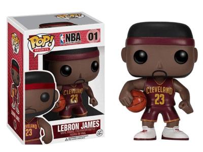 POP, Figura de Vinilo Coleccionable, NBA Cleveland, Lebron James, Nº01