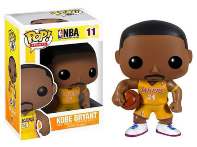 POP, Figura de Vinilo Coleccionable, NBA Lakers, kobe Bryant, Nº11