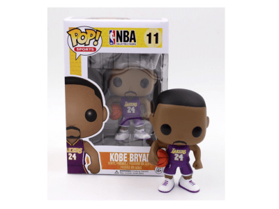 POP, Figura de Vinilo Coleccionable, NBA Lakers, Kobe Bryant (Purple), Nº11