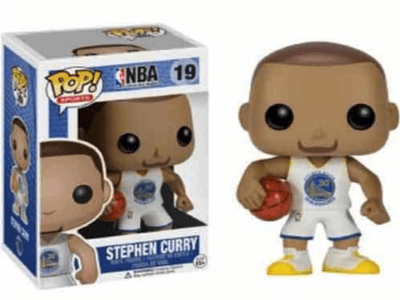 POP, Figura de Vinilo Coleccionable, NBA Golden State Warriors, Stephen Curry, Nº19