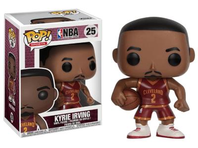 POP, Figura de Vinilo Coleccionable, NBA Cleveland, Kyrie Irving, Nº25