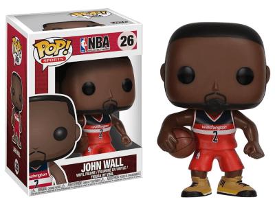 POP, Figura de Vinilo Coleccionable, NBA Washington, Jhon Wall, Nº26