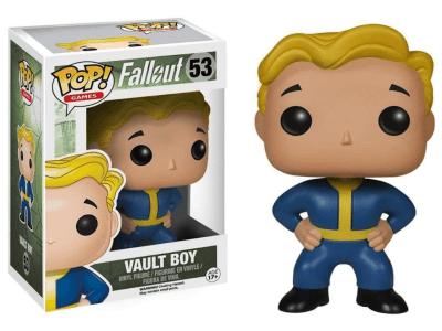 POP, Figura de Vinilo Coleccionable, Fallout, Vault Boy, Nº53