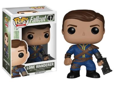 POP, Figura de Vinilo Coleccionable, Fallout, Lone Wanderer, Nº47