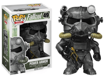 POP, Figura de Vinilo Coleccionable, Fallout, Power Armor, Nº49