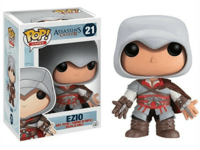 POP, Figura de Vinilo Coleccionable, Assassins Creed II, Ezio, Nº21