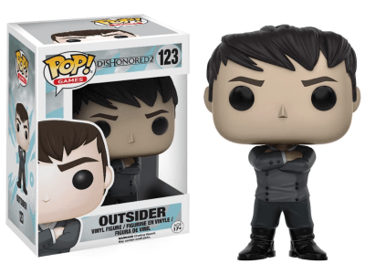 POP, Figura de Vinilo Coleccionable, Dishonored2, Outsider, Nº123