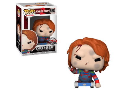 POP, Figura de Vinilo Coleccionable, Child Play2, Chucky on Cart, Nº658
