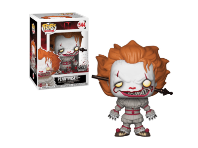 POP, Figura de Vinilo Coleccionable, IT, Pennywise with Wrought Iron, Nº544