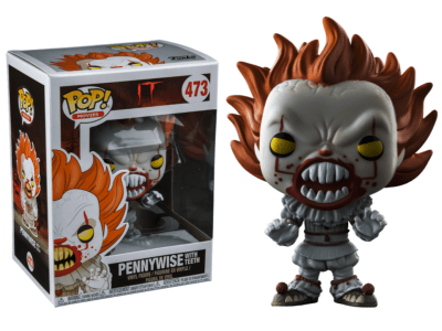 POP, Figura de Vinilo Coleccionable, IT, Pennywise with Teeth, Nº473