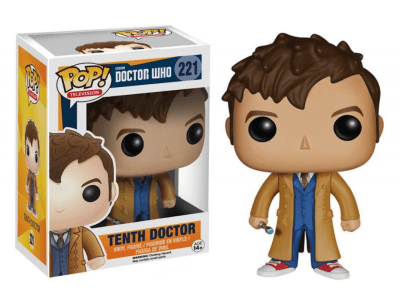 POP, Figura de Vinilo Coleccionable, Doctor Who, Tenth Doctor, Nº221