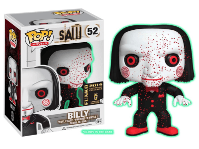 POP, Figura de Vinilo Coleccionable, Saw, Billy, Nº52