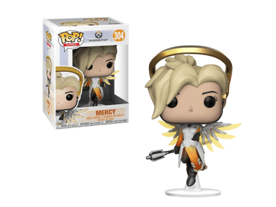 POP, Figura de Vinilo Coleccionable, Overwatch, Mercy, Nº304