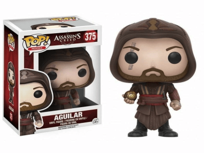 POP, Figura de Vinilo Coleccionable, Assassins Creed, Aguilar, Nº375