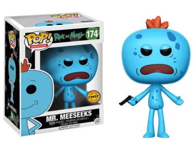 POP, Figura de Vinilo Coleccionable, Rick and Morty, Mr. Meeseeks, Nº174