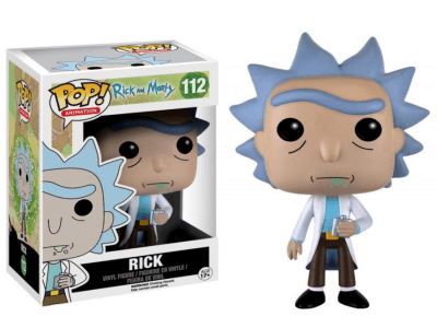 POP, Figura de Vinilo Coleccionablee, Rick and Morty, Rick, Nº112