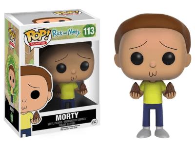 POP, Figura de Vinilo Coleccionable, Rick and Morty, Morty, Nº113