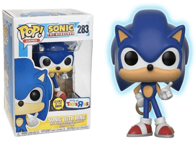 POP, Figura de Vinilo Coleccionable, Sonic, Sonic with Ring, Nº283