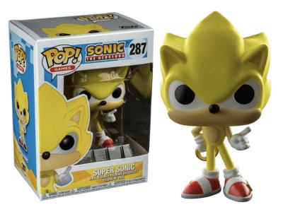 POP, Figura de Vinilo Coleccionable, Sonic, Super Sonic, Nº287