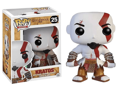 POP, Figura de Vinilo Coleccionable, God of War, Kratos, Nº25