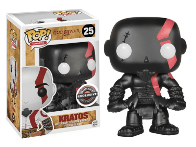 POP, Figura de Vinilo Coleccionable, God of War, Kratos (Black), Nº25