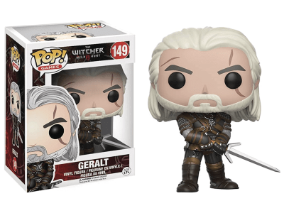 POP, Figura de Vinilo Coleccionable, The witcher Wild Hunt, Geralt, Nº149