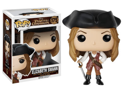 POP, Figura de Vinilo Coleccionable, Pirates of the Caribbean, Elizabeth Swann, Nº175