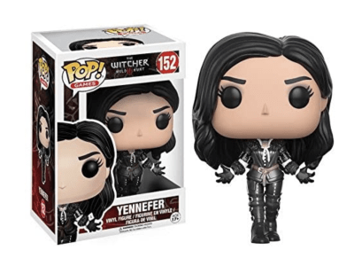 POP, Figura de Vinilo Coleccionable, The witcher Wild Hunt, Yennefer, Nº152
