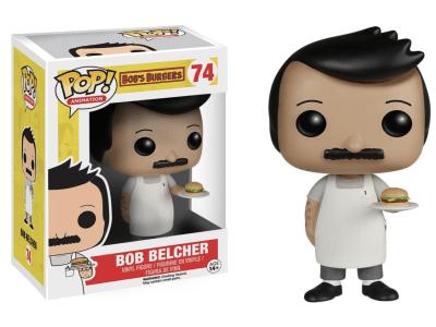 POP, Figura de Vinilo Coleccionable, Bob´s Burguers, Bob Belcher, Nº74