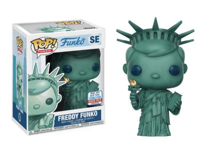 POP, Figura de Vinilo Coleccionable, Funko, Freddy Funko (New York Comic Con 2017 Special Edition),