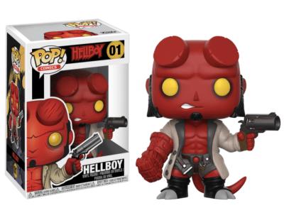 POP, Figura de Vinilo Coleccionable, Hellboy, Hellboy, Nº01