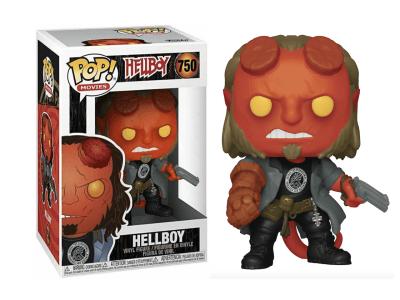 POP, Figura de Vinilo Coleccionable, Hellboy, Hellboy, Nº750