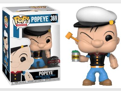 POP, Figura de Vinilo Coleccionable, Popeye, Popeye, Nº369