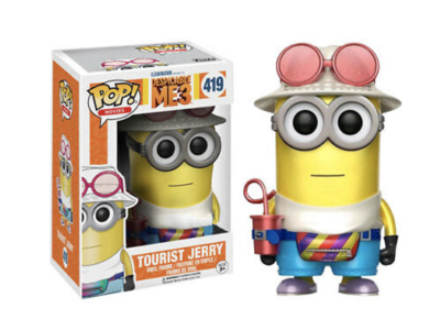 POP, Figura de Vinilo Coleccionable, Despicable ME3, Tourist Jerry, Nº419