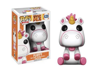 POP, Figura de Vinilo Coleccionable, Despicable ME3, Fluffy, Nº420